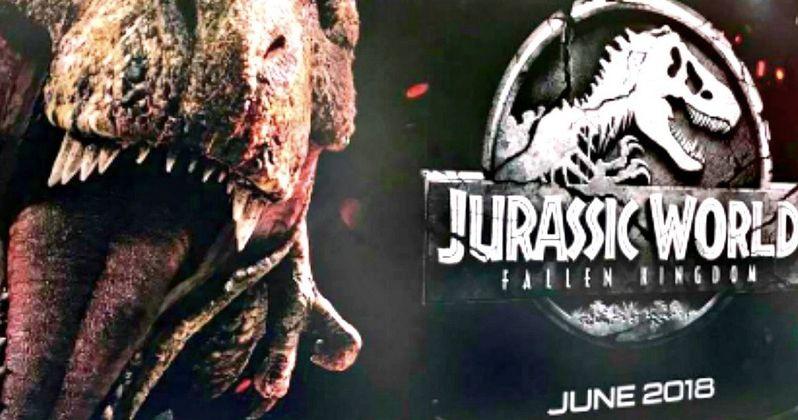 New Jurassic World 2 Poster Arrives, Trailer Coming in December?