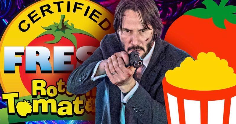 John Wick 3 Scores Franchise Best Rotten Tomatoes Score