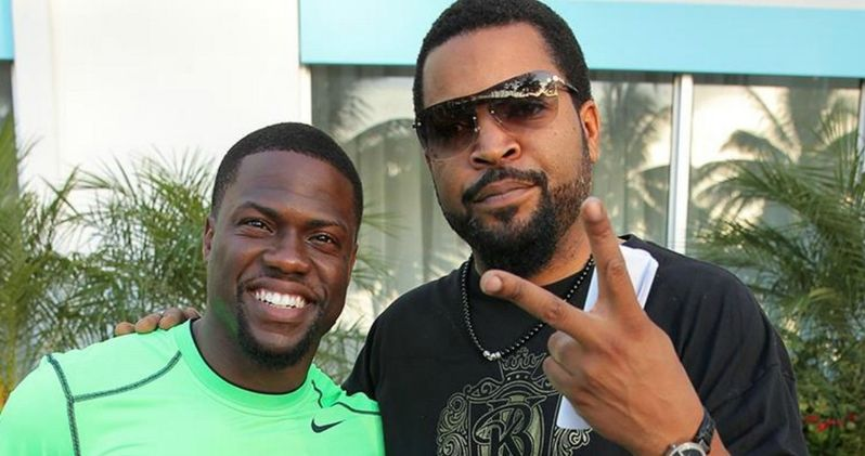 First Ride Along 2 Set Video with Ice Cube and Kevin Hart!