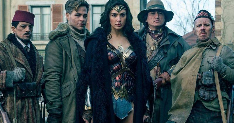 New Wonder Woman Epilogue Reveals Justice League Connection