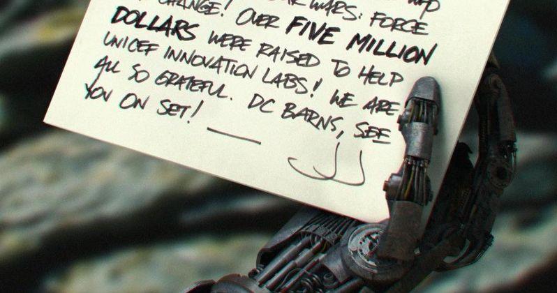 J.J. Abrams Unveils Droid Hand in Star Wars 7 Photo