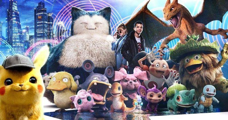 Afbeeldingsresultaat voor detective pikachu banner