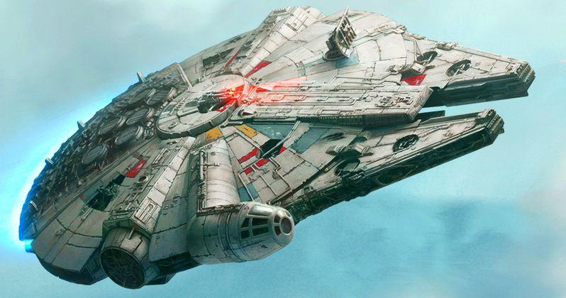 Jj Abrams Star Wars Millennium Falcon
