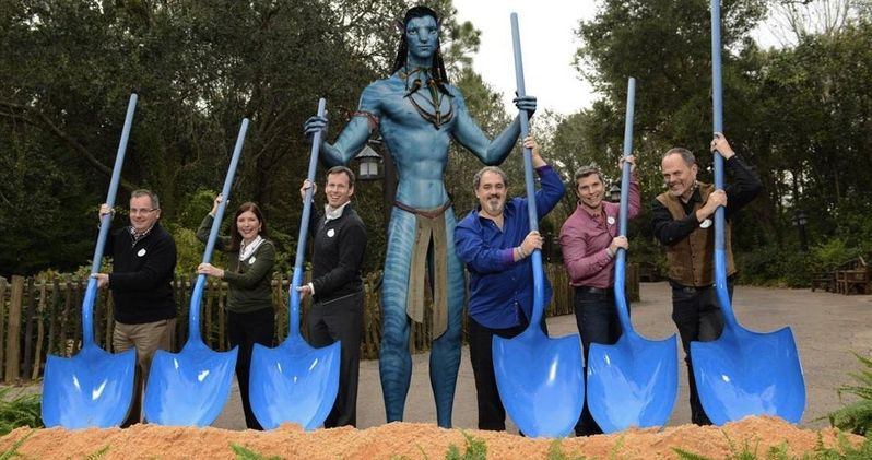 Watch as Avatar Land Begins Construction at Disney's Animal Kingdom