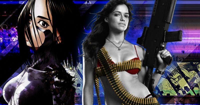 Michelle Rodriguez Secretly Joined Alita: Battle Angel