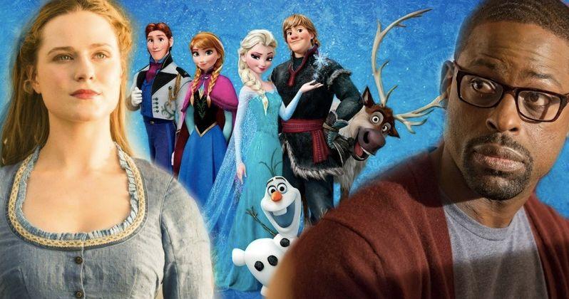 Frozen 2 Brings in Evan Rachel Wood and Sterling K. Brown