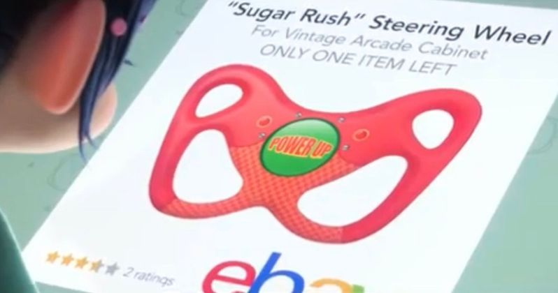 Sugar Rush Steering Wheel from Ralph Breaks the Internet Goes Up for Auction
