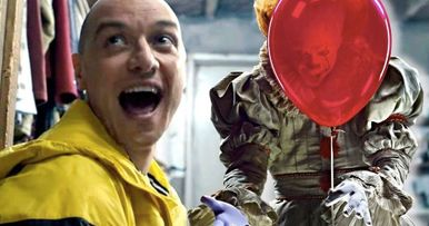 IT 2 Star James McAvoy Admits Pennywise Freaked Him Out On Set