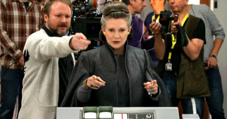 Carrie Fisher Helped Write Star Wars 8