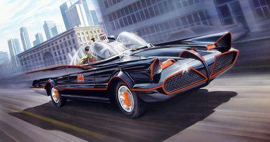 Classic 60s-Era Batmobile Spotted on Joker Movie Set