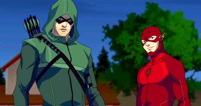 Vixen Trailer: An Animated Arrow & Flash Spinoff