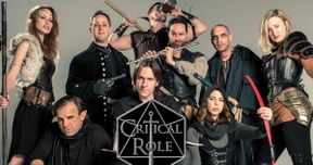 Critical Role Cast Talk D&D, World Building & Stranger Things | EXCLUSIVE