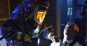 Guillermo Del Toro's The Strain Photo with Mia Maestro