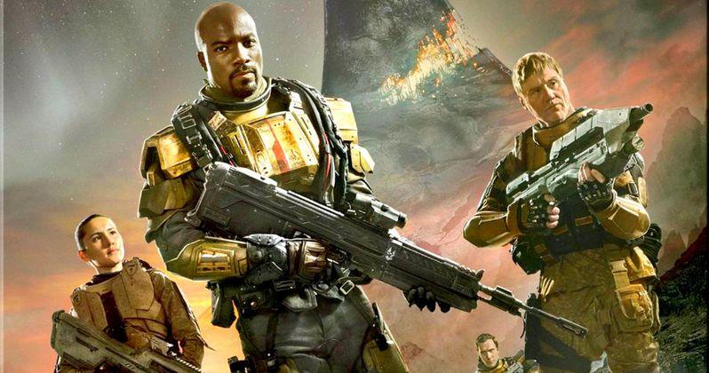 Halo: Nightfall Blu-ray Trailer, Art and Release Details