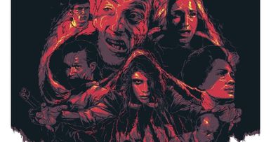 Night of the Living Dead Grzegorz Domaradzki Poster Goes to Hell