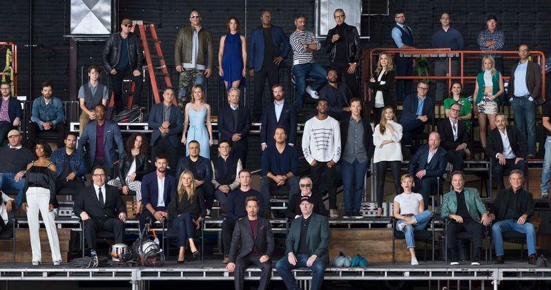Marvel 10th Anniversary Class Photo & Video Unites the Entire MCU