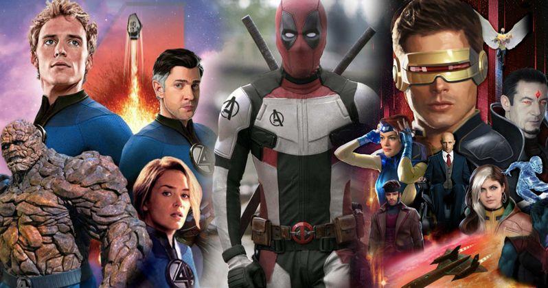 Marvel Studios Officially Takes Over X-Men, Fantastic Four & Deadpool