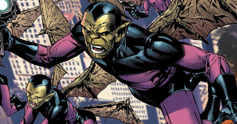X-Men 7 and Captain Marvel Will Share the Skrulls as Villains?