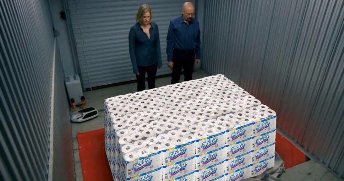 Breaking Bad Parody Video Has Heisenberg Hoarding Toilet Paper