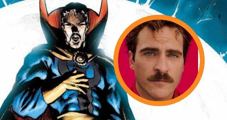 Joaquin Phoenix in Talks for Doctor Strange
