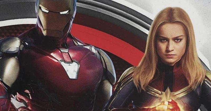 Captain Marvel & Iron Man Unite to Fight in New Endgame Promo Art