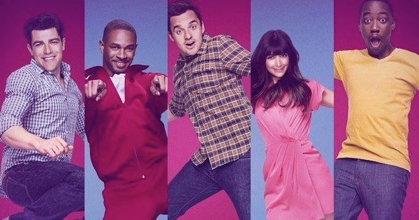 New Girl Season 3 and The Mindy Project Season 2 Mid-Season Premiere Posters