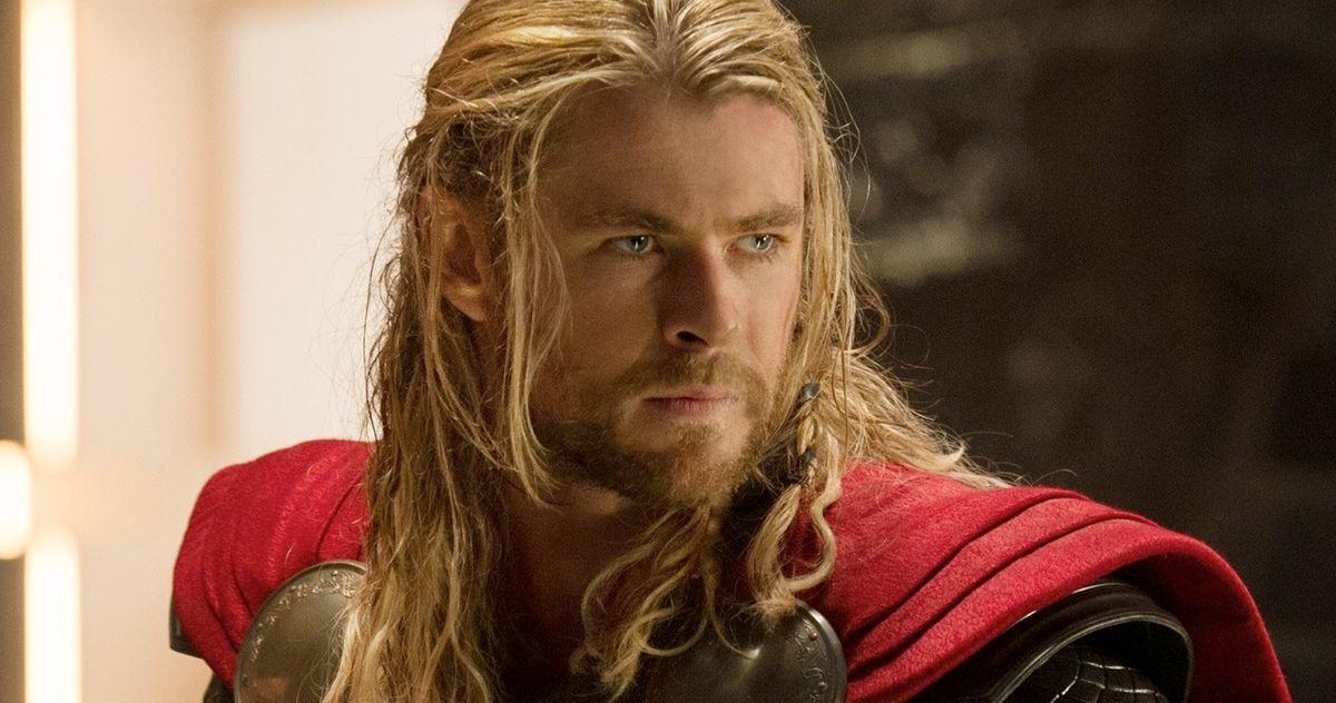Chris Hemsworth Teases the Return of Thor's Classic Look in Love & Thunder