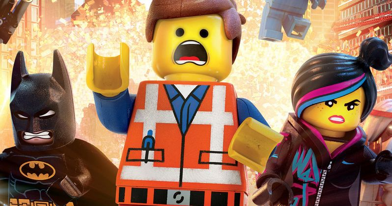 The LEGO Movie: Batman, Superman and Green Lantern Team-Up in New TV Spot