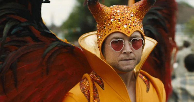 Rocketman Review: Taron Egerton Astonishes in Glitzy Elton John Musical