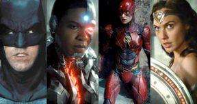 Over 50 Justice League Trailer Photos & New Superhero Logos Unveiled