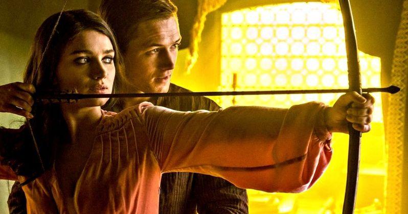 Taron Egerton as Robin Hood Revealed in New Origins Movie