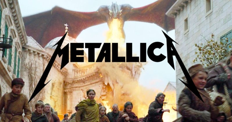 Watching Daenerys Torch King's Landing to Metallica Is Pretty Satisfying