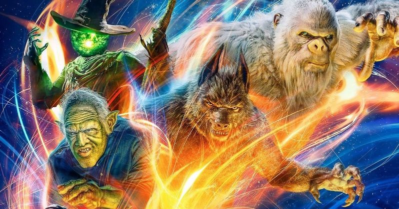Goosebumps 2 Poster Has Witches, Ghouls and Gummy Bears on the Attack