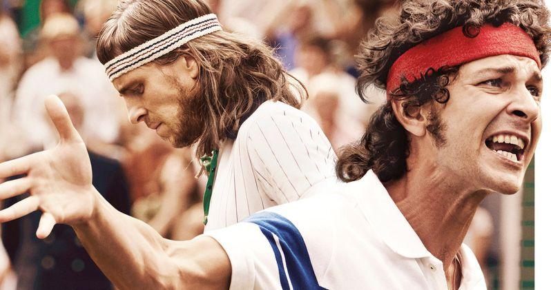 Borg Vs. McEnroe Trailer: Shia LaBeouf Is a Tennis Legend