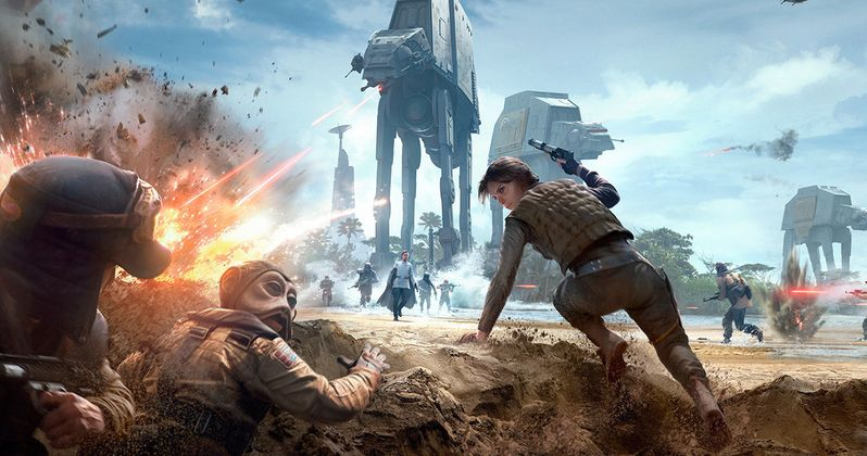 Rogue One DLC Revealed in New Star Wars Battlefront Trailer