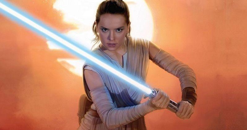 Rey's New Lightsaber Skills Shown in Star Wars 8 Set Video