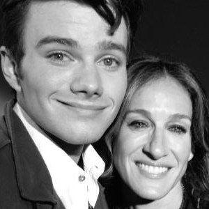 Glee Season 4 On Set with Sarah Jessica Parker and Chris Colfer