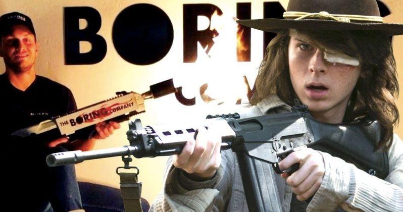Walking Dead Star Buys Elon Musk's Flamethrower After Zombie Joke Goes Viral