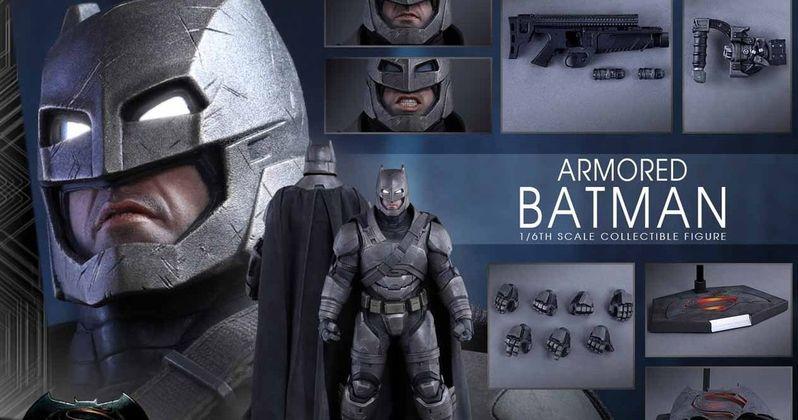 Batman v Superman High-Res Photos & New Hot Toys Figure Unveiled