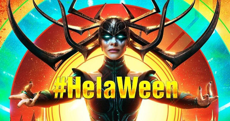 Thor: Ragnarok Kicks Off 31 Days of HelaWeen