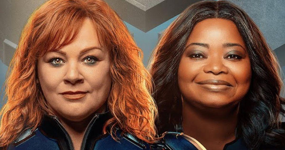 В трейлере Netflix к фильму «Сила грома» Мелисса Маккарти и Октавия Спенсер сыграли супергероев