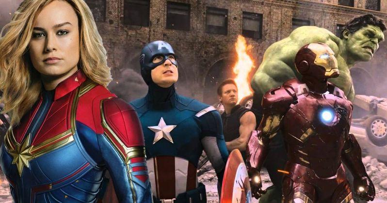 Original Avengers Easter Egg Discovered in Captain Marvel