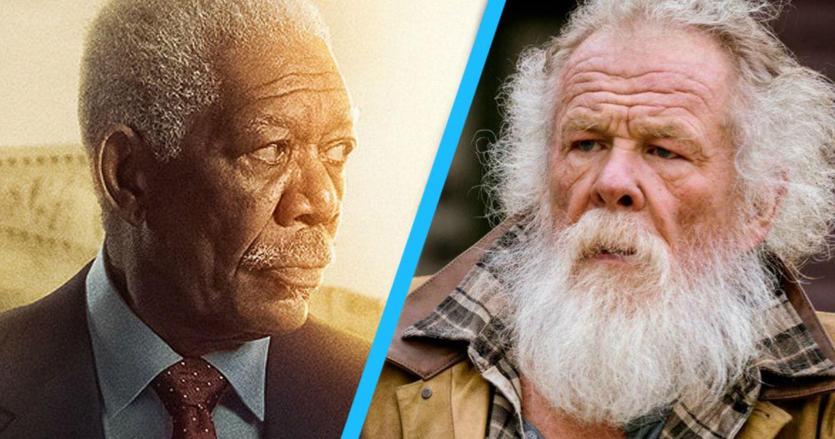 Angel Has Fallen Director Wants a Nick Nolte Vs. Morgan Freeman Showdown in Fallen 4