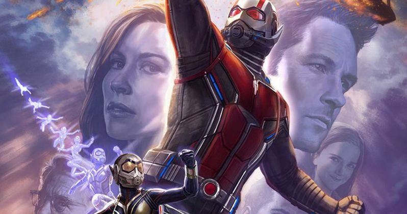 Wasp Joins the Fight in Ant-Man 2 Poster & Comic-Con Footage Details