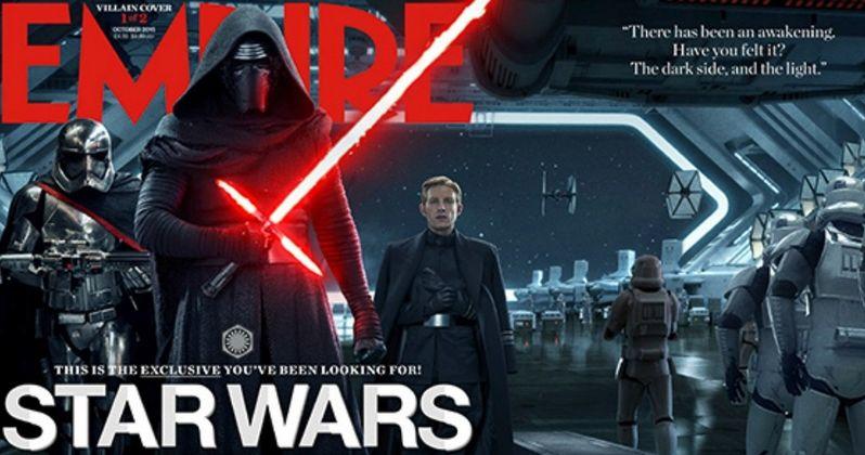 Star Wars 7 Empire Magazine Cover Unites the New Villains