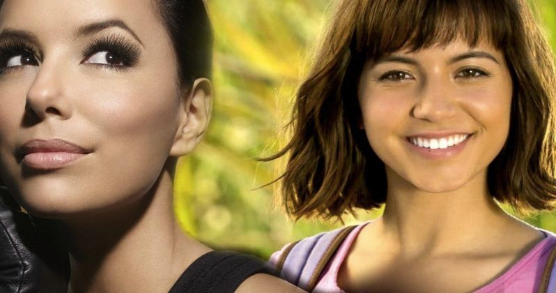 Eva Longoria joins 'Dora the Explorer' movie as Dora's mom