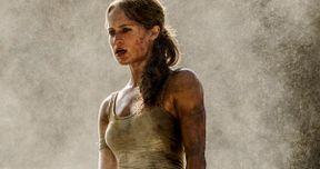 Lara Croft Gets Dirty in New Tomb Raider Remake Photo