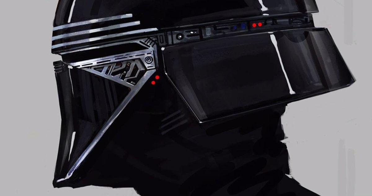 Kylo Ren Gets a Darth Vader Inspired Helmet in The Rise of Skywalker Concept Art