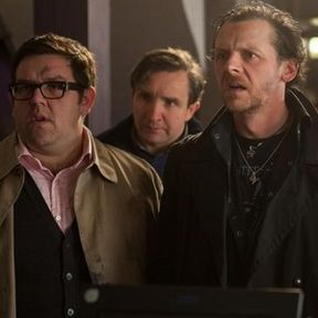 The World's End Cast Photo with Simon Pegg and Nick Frost