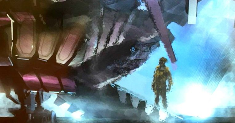 X-Men: Apocalypse Art Reveals A Massive Spaceship